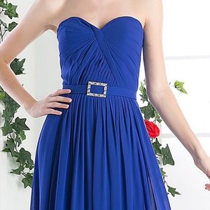 Strapless Sweetheart Prom Long Dress
